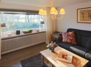 Ferienwohnung Birkenfee Wohnzimmer